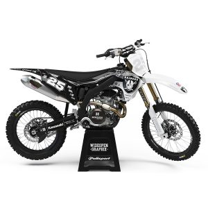 Crossdekaler Raiders Edition Kawasaki - Svmx.se