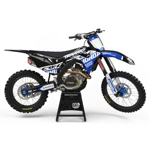 Dekaler High-Cut Series Blue Honda - Svmx.se