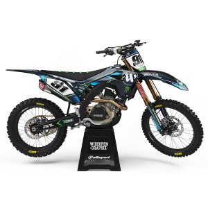Dekaler Resolute Green Honda - Svmx.se