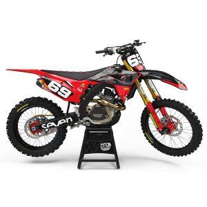 Motocross Dekaler Camo Series Honda - Svmx.se