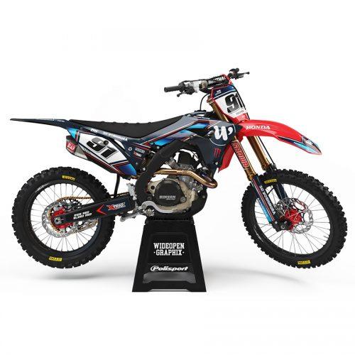 Motocross Dekaler Resolute Red Honda - Svmx.se