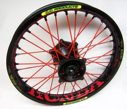 Crosshjul - Komplett Bakhjul Excel CC Products MX - Honda