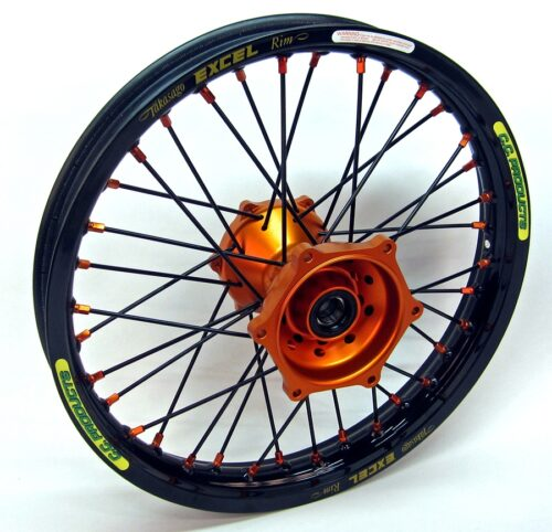 Crosshjul - Komplett Bakhjul Excel CC Products MX - KTM svart orange o
