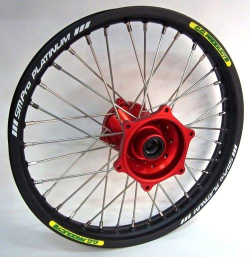 Crosshjul Komplett Bakhjul Excel CC Products MX - Suzuki RMZ - svart, röd