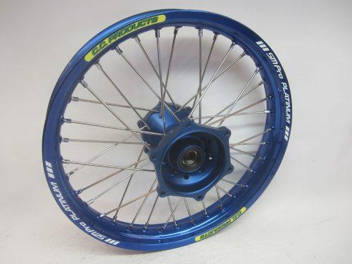 Crosshjul - Komplett Bakhjul Excel CC Products MX - Yamaha YZ, blå