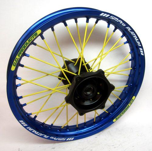 Crosshjul - Komplett Bakhjul Excel CC Products MX - Yamaha YZF - Blå Svart