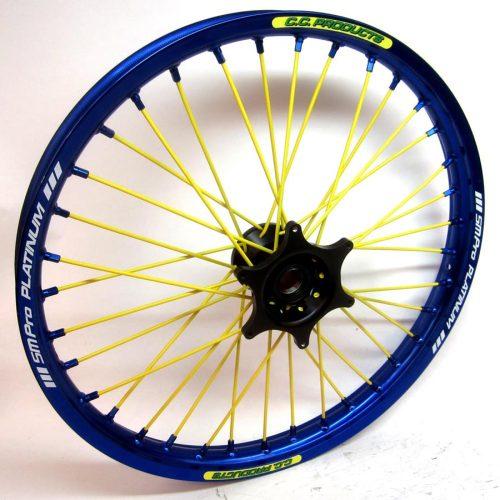 Crosshjul - Komplett Framhjul Excel CC Products MX - Blå,blå, gul, svart - Svmx.se
