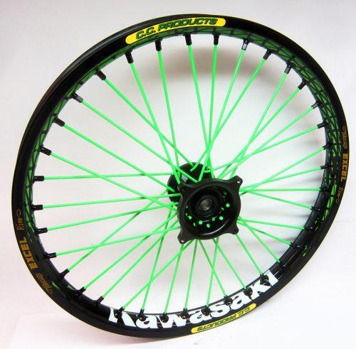 Crosshjul - Komplett Framhjul Excel CC Products MX - Svart,svart,grön, svart - Svmx.se