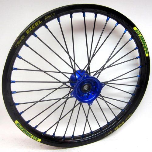 Crosshjul - Komplett Framhjul Excel CC Products - Svart, blå, svart, blå - Svmx.se