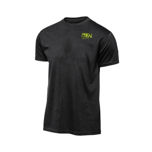 T-shirt Seven Biochemical Svart-Neongul