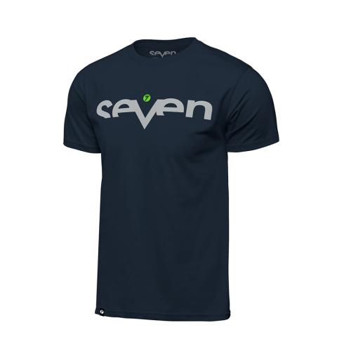 T-shirt Seven Brand Marinblå