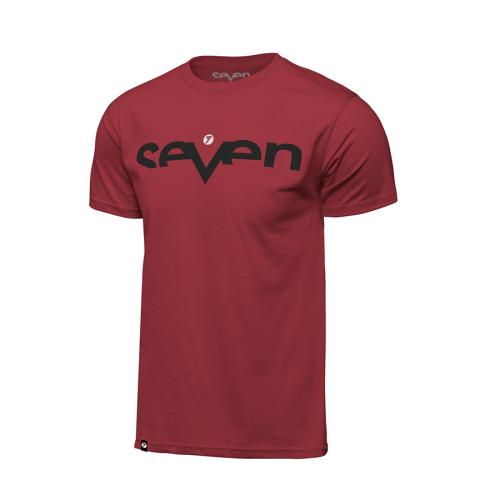 T-shirt Seven Brand Röd
